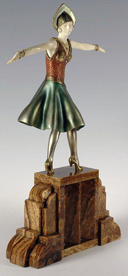 sculpture bronze hongrois