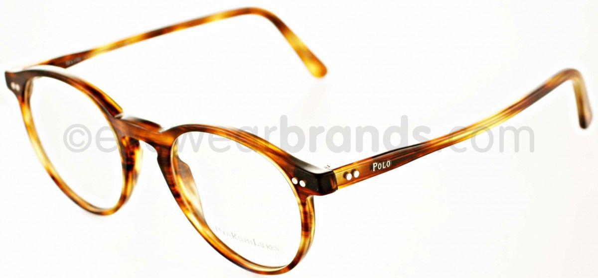 69385b6d00 Polo Ralph Lauren PH2083 5007 Havana Striped Glasses