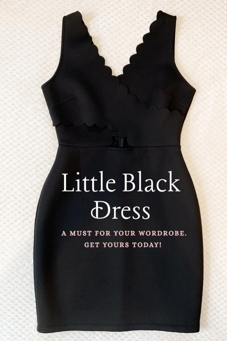 Soprano Scallop Little Black Dress Women S Size Medium Womens Black Dress Mini Black Dress Boutique Clothing [ 1102 x 735 Pixel ]