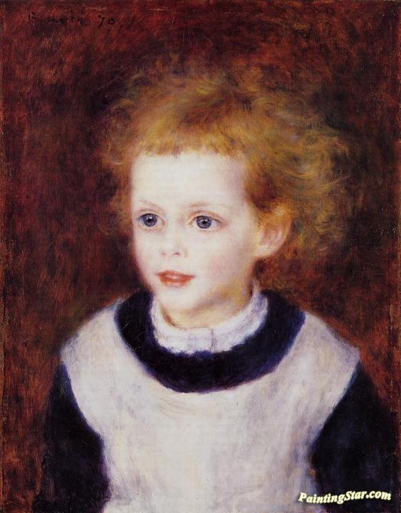 Margot Berard Artwork by Pierre Auguste Renoir