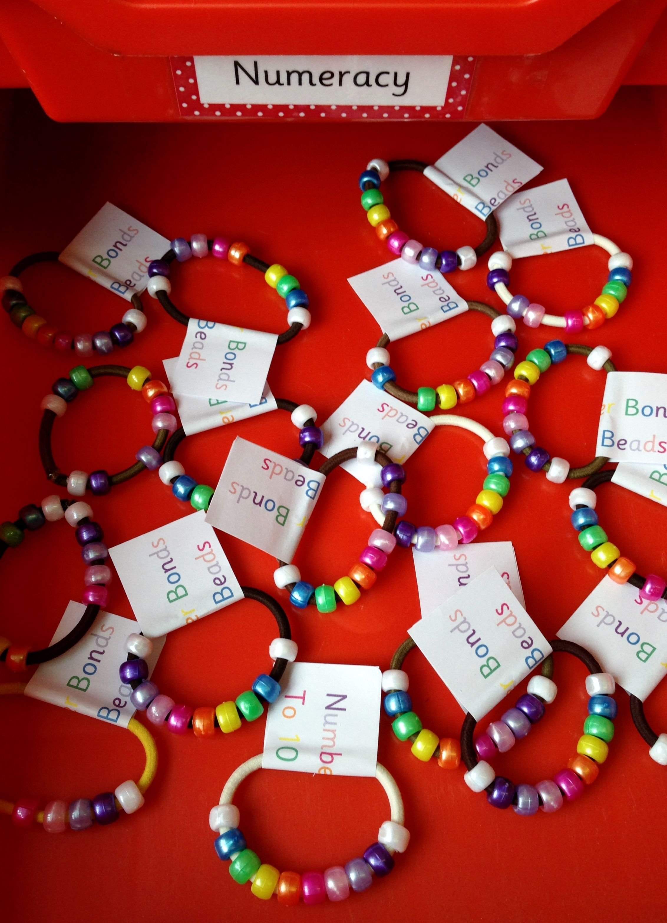 Number Bonds To Ten Beads
