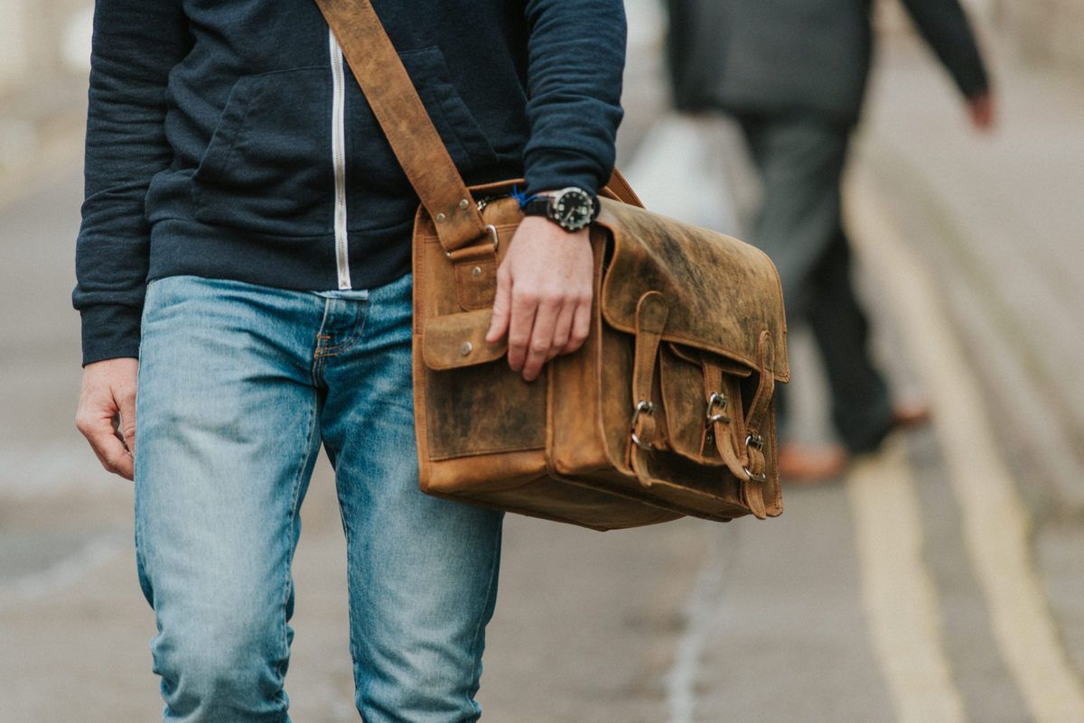 d2e03f2f7f85 Medium Overlander Leather Satchel 16 Inch Scaramanga new leather bag  collection at scaramangashop.co.uk photos by  photosbyzoe
