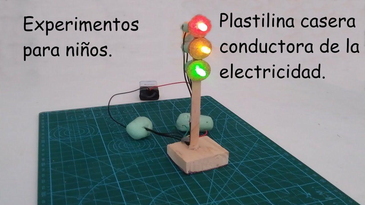 Experimentos Para Niños 2018 Circuito Eléctrico Con Plastilina Cond Experimentos De Electricidad Experimentos Para Niños Experimentos Para Niños Primaria