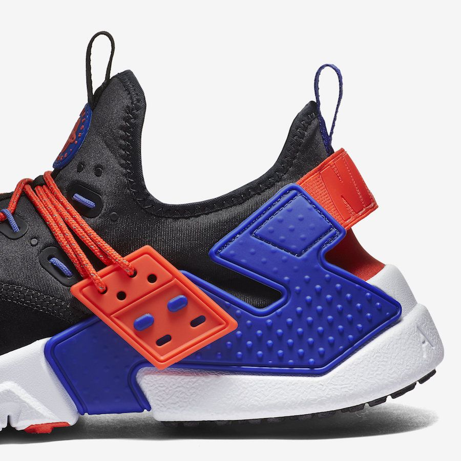 Nike Huarache Cheap Nike Air Huarache Drift Burgundry White Yellow Blue