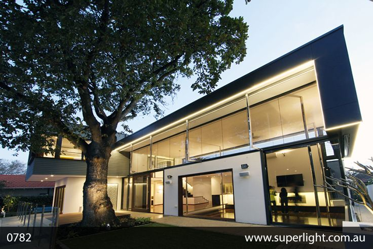 Project 0782 Lovely Architecture And Led Lights Www Superlight Com Au Led Architecture Home Lighting Suppliers House Styles Architecture