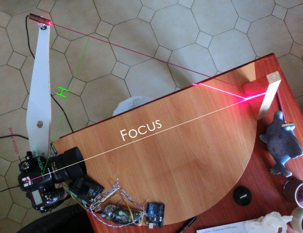 DIY 3D Laser Scanner Using Arduino Arduino projects