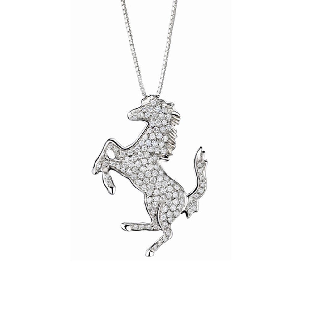 Pendant large diamond horse line horses pinterest diamond pendant large diamond horse line aloadofball Image collections