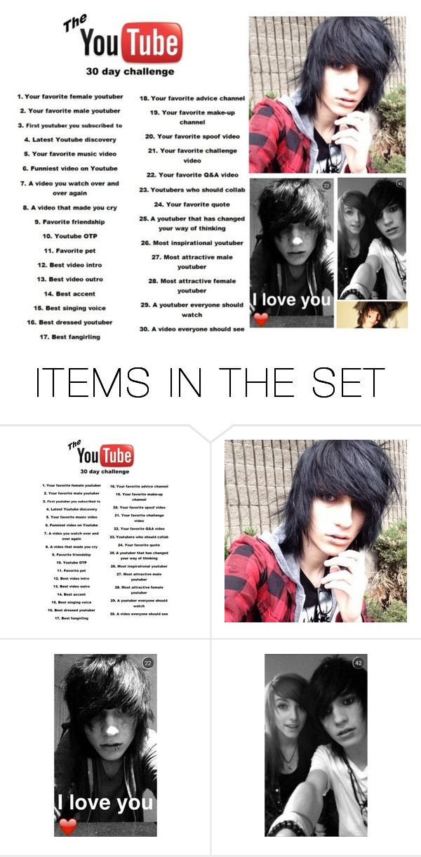 """""""Day 2: Johnnie Guilbert"""" by exotic-demon-wolf ❤ liked on Polyvore featuring art"""