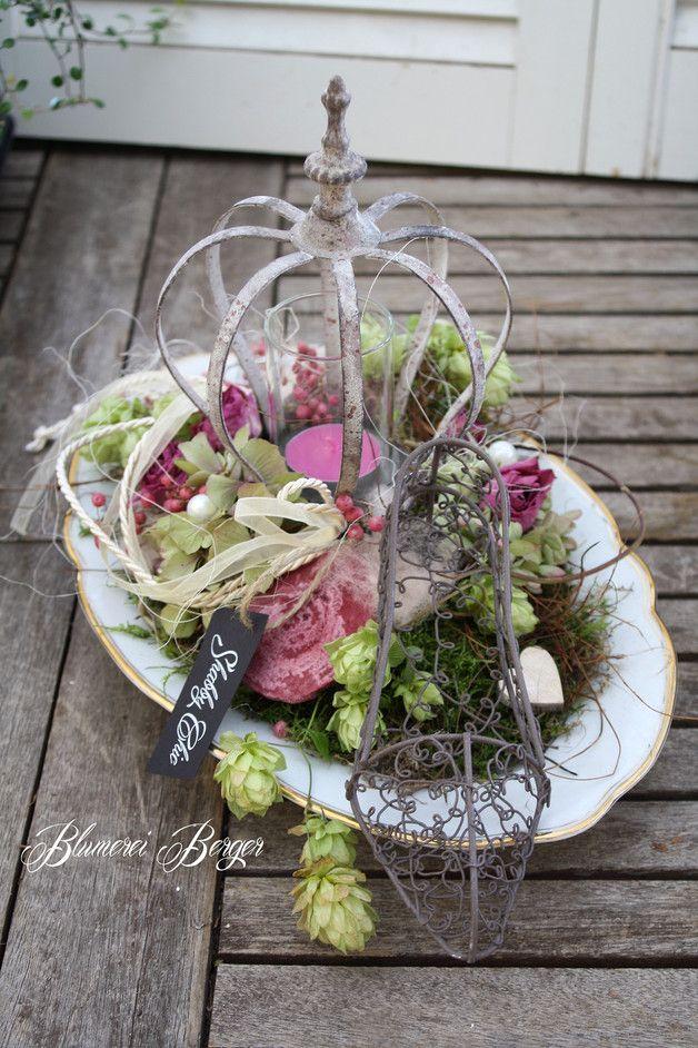 l nge 35 cm h he 25 cm craft ideas pinterest miniaturas floral und etsy. Black Bedroom Furniture Sets. Home Design Ideas