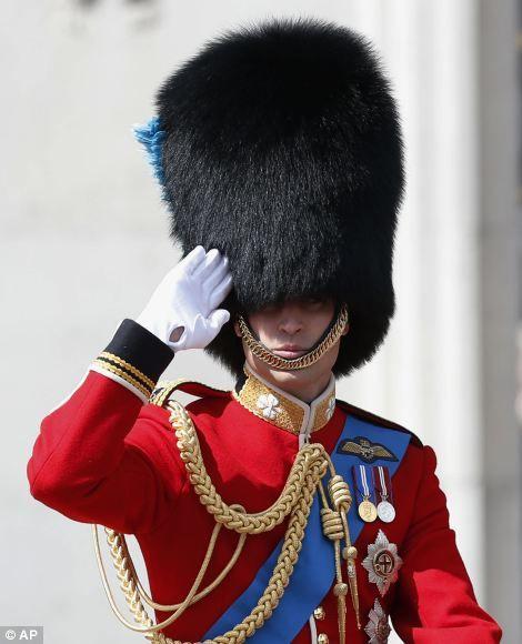 Trooping the Colour 2013 - Duke of Cambridge
