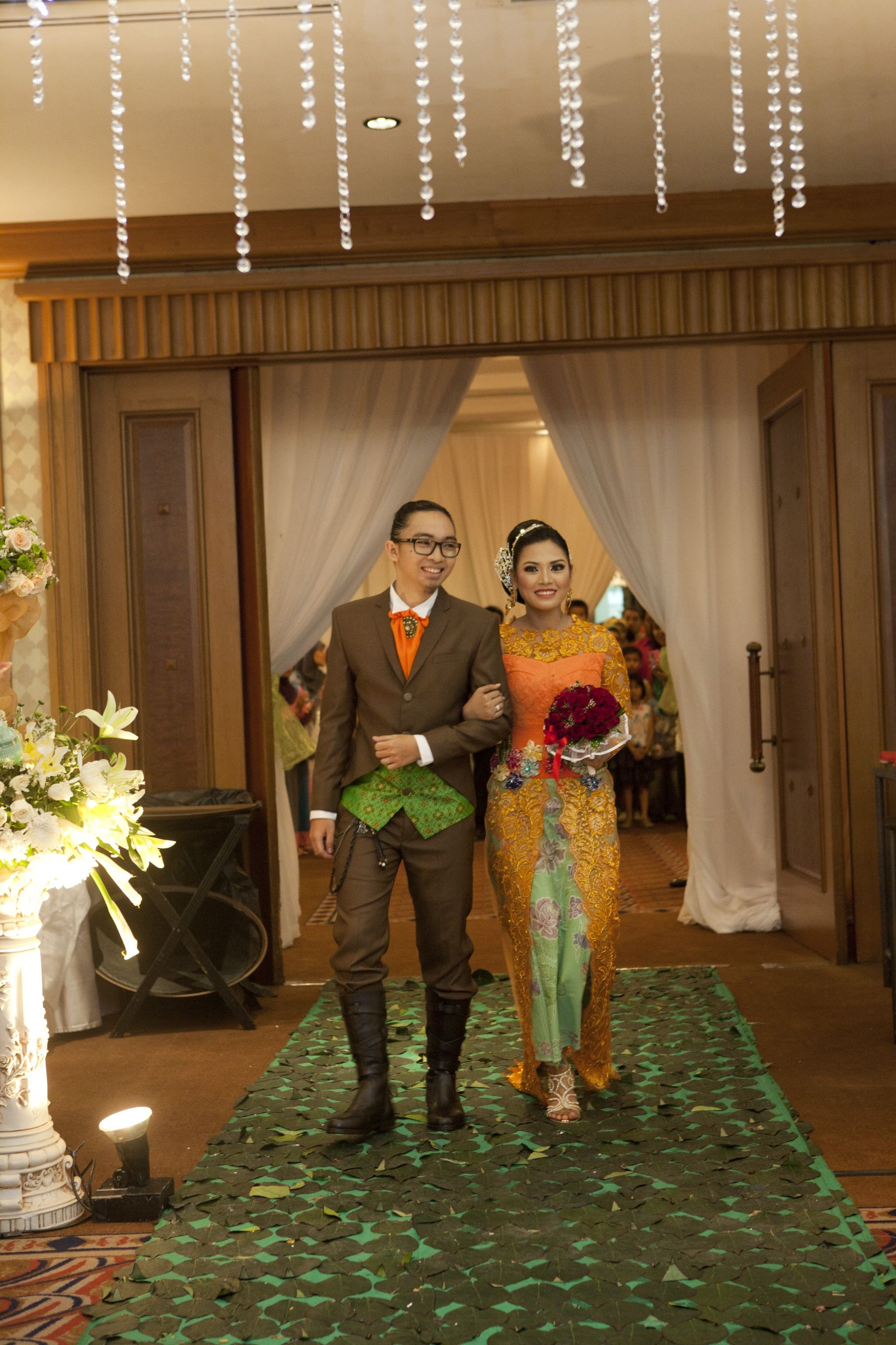 Kebaya dress and suits by Crazy No Play by fei for Rama & Amanda wedding day