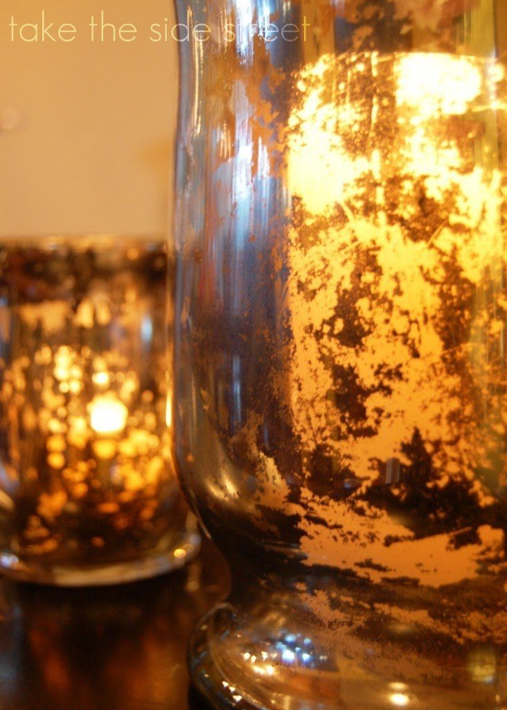 Faux Mercury Glass Tutorial