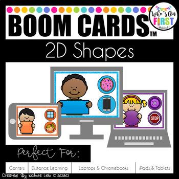 2D Shapes Boom Cards in 2020 2d shapes, Digital task