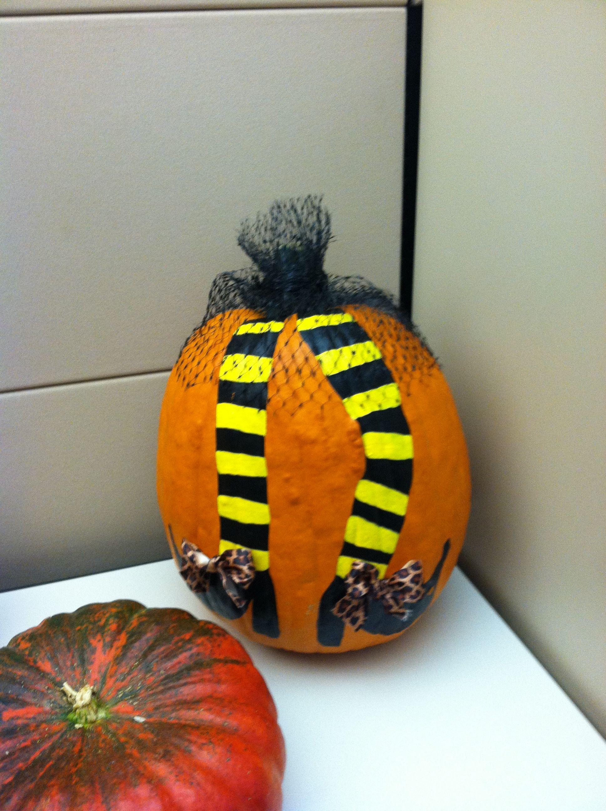 Great legs pumpkin!