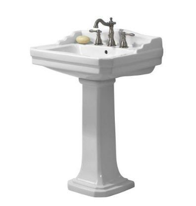 158 Foremost Series 1920 Fl 1920 4w Pedestal Combo Bathroom