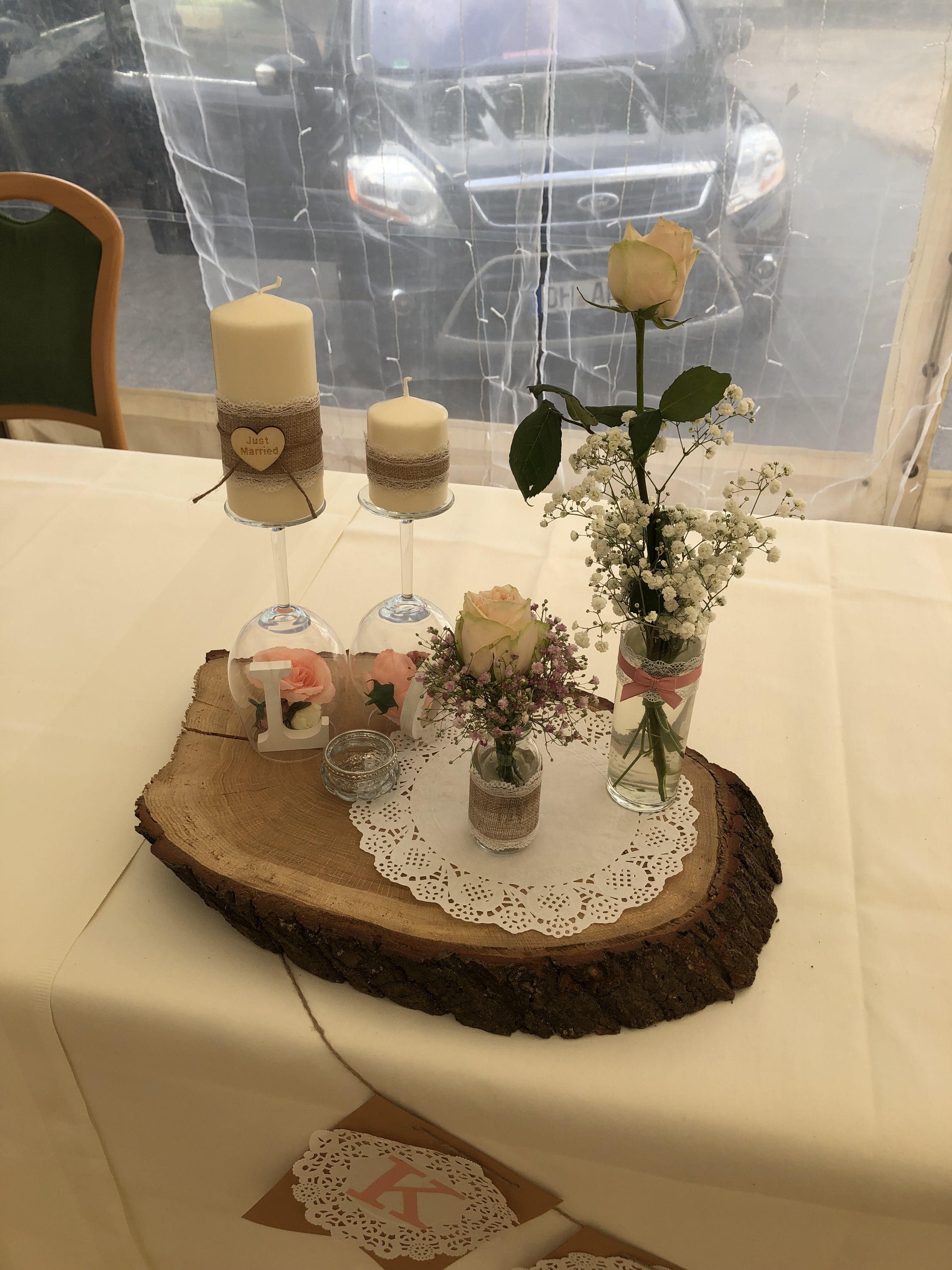 Vintagedeko/ Brauttisch | Hochzeitstisch, Hochzeit