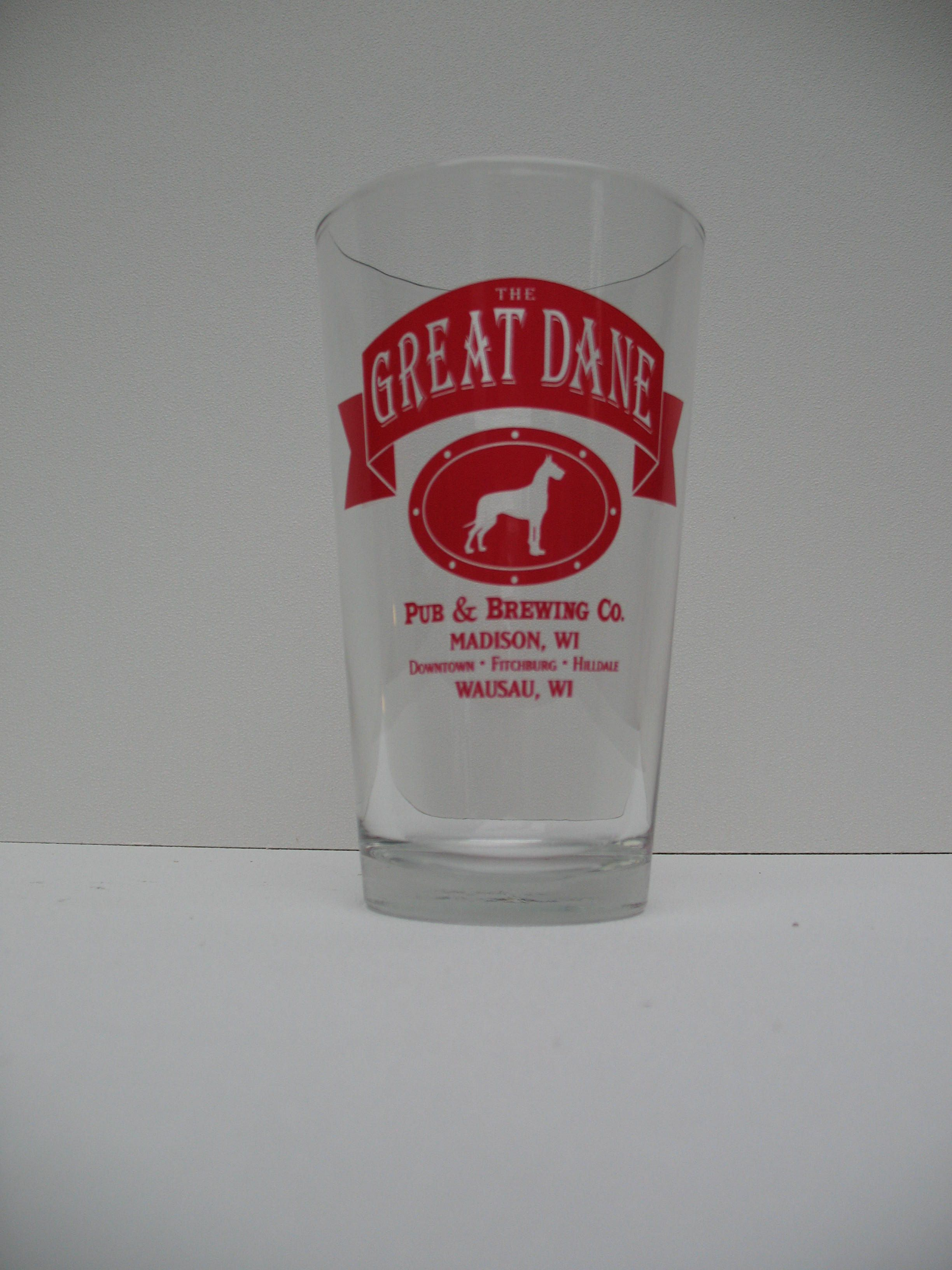 Love Going To The Great Dane Brewing Co Dane Glassware