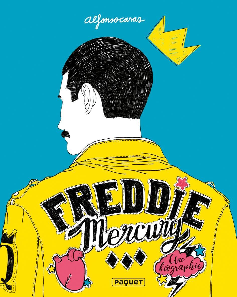 Freddie Mercury, une biographie en BD d'Alfonso Casas