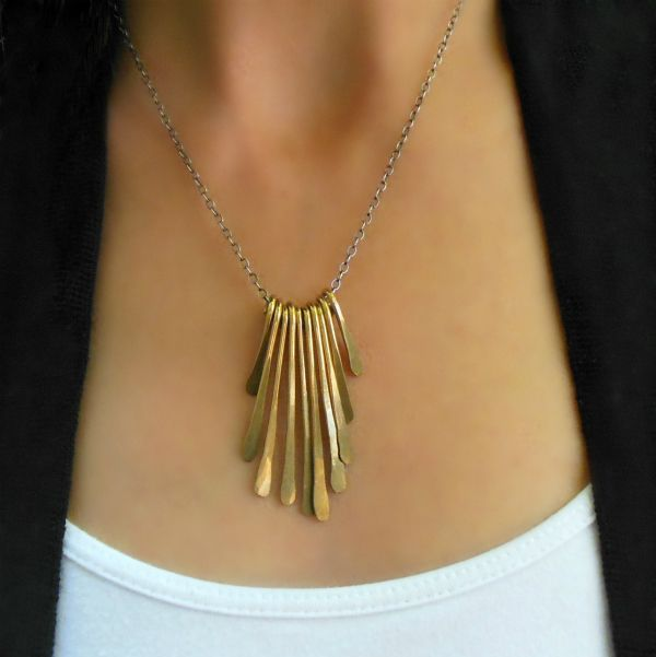 Sunburst Necklace: Handmade jewelry | Handcrafted eco-friendly jewelry | Eco Lustre