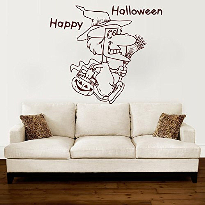 happy halloween stickers bike