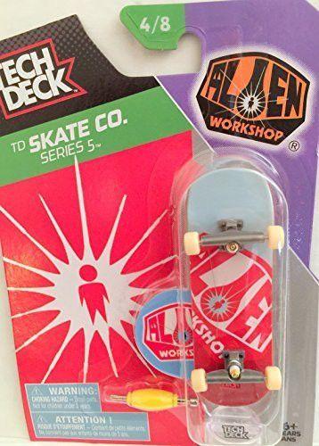 Tech Deck TD Skate Co Series 5 Alien Workshop Skateboard w