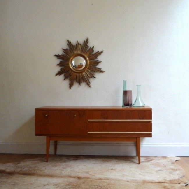 Petite commode – enfilade vintage scandinave | Furniture | Pinterest ...