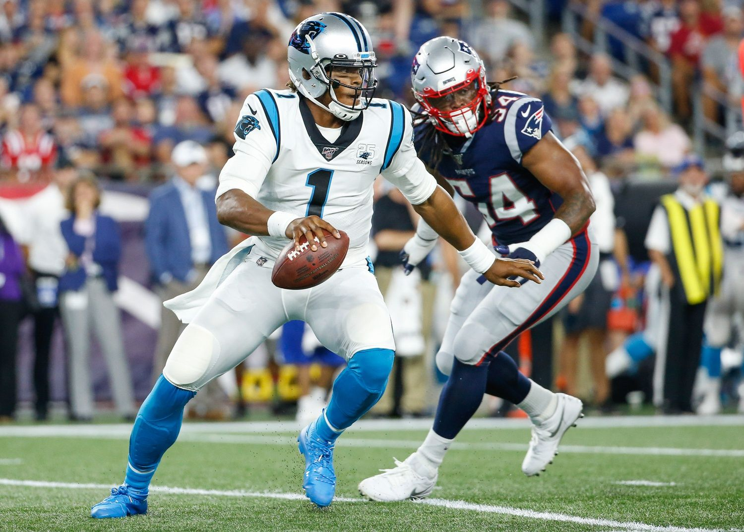 Photo Cam Newton Shows His Gratitude For Bill Belichick In Latest Instagram Post Nfl In 2020 Nfl News Nfl Bill Belichick