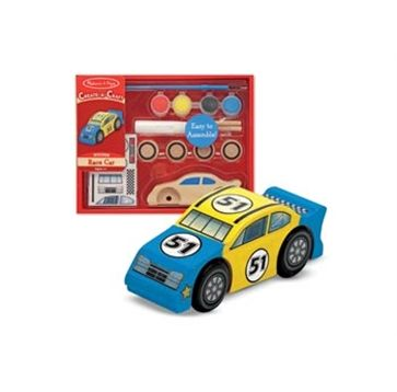 Buy Melissa And Doug Create A Craft Race Car Set Product Online Australia | No i Deer Gifts