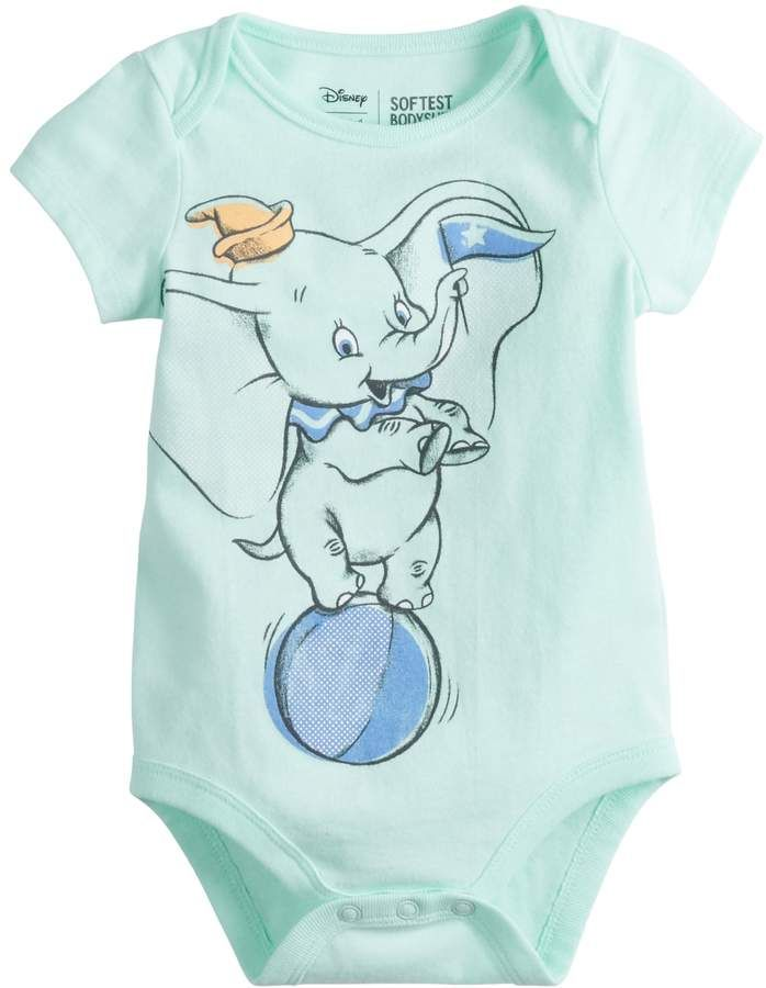 32b7701f9 Disneyjumping Beans Disney's Dumbo Baby Girl Graphic Bodysuit by Jumping  Beans