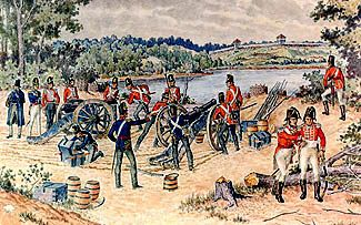 The First Attack Siege On Fort Meigs Ohio 28 April 9 May 1813 By C S Forster History Of Warfare History War American War