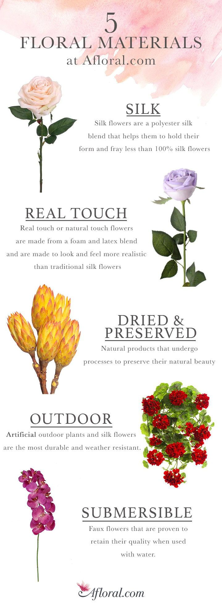 Find Silk Flowers Real Touch Florals Dried And Preserved Flowers