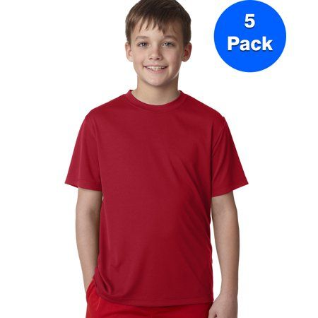 12 Pack Next Level Boys Boys Tri-Blend Crew N6310-Vintage Black-Small