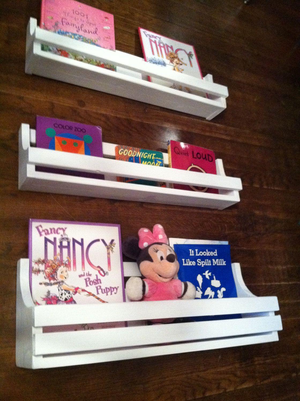 Shelves Shelf Book Shelves Children Nursery Toddler Wooden