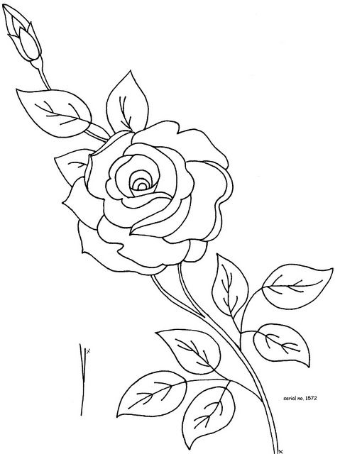 Serial No 1572 No 2 Embroidery Designs Embroidery Flowers Flower Drawing