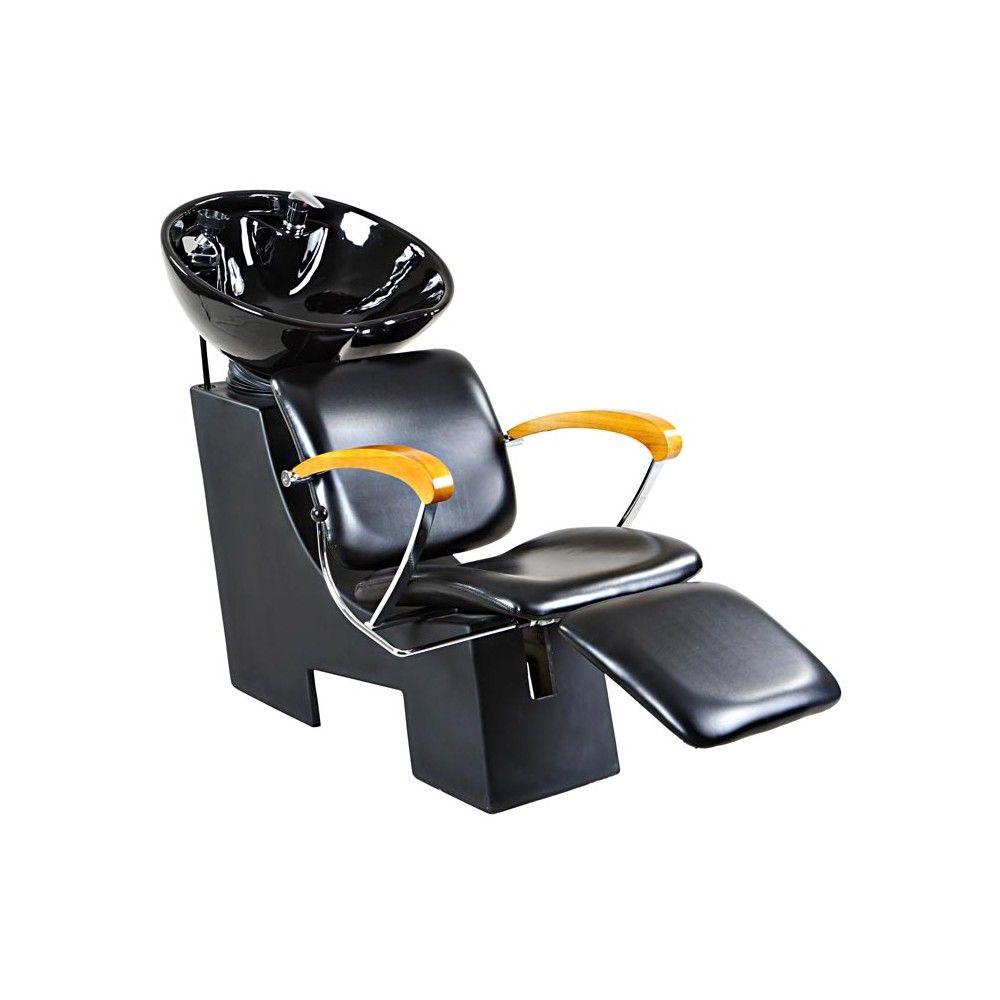 Reynolds black beauty salon shampoo chair sink bowl