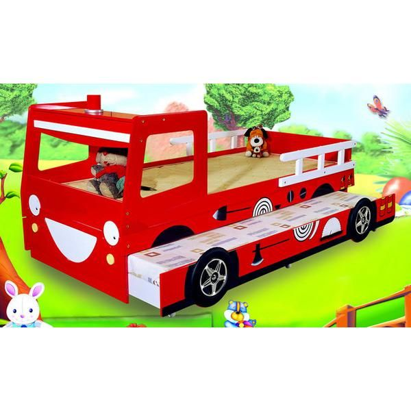 Fire Engine Bed With Trundle Kids Bedroom Kids Bed Car Bed