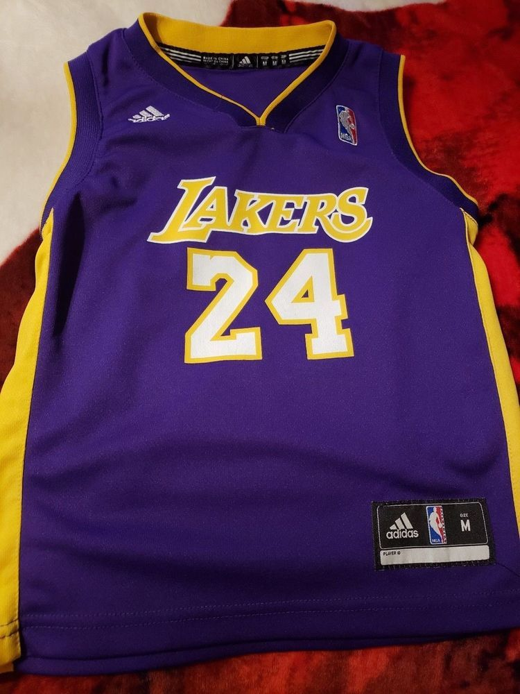 Youth Kids La Lakers Kobe Bryant Nba Jersey Adidas Lakers Jacket Medium Adidas Losangeleslakers Fan Apparel Nike Nba Jerseys Kobe Bryant