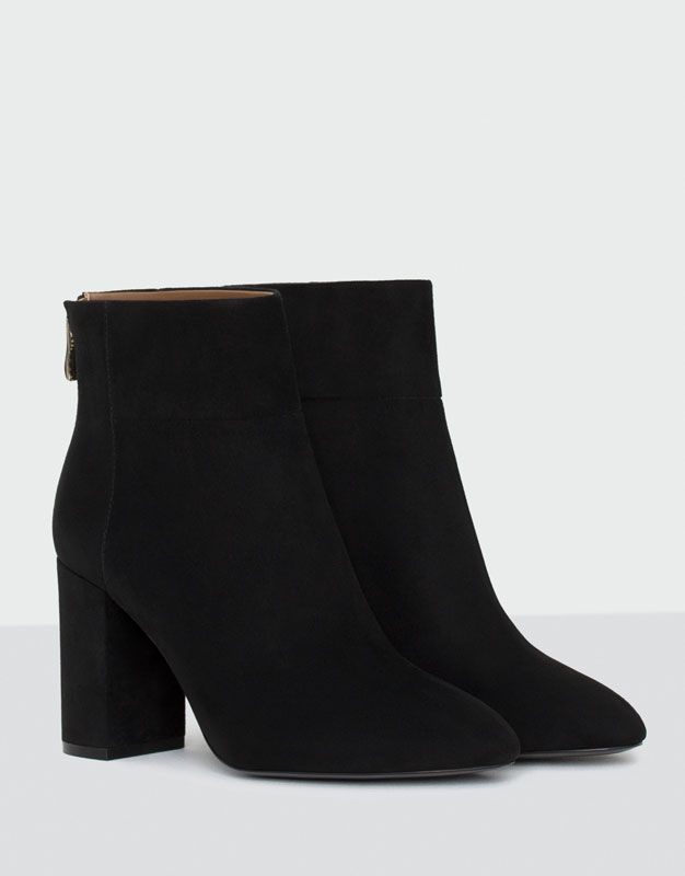 871f4b23a49fd9 Bottine à talon soirée - Meilleures ventes ❤ - Chaussures - Femme -  PULL&BEAR France