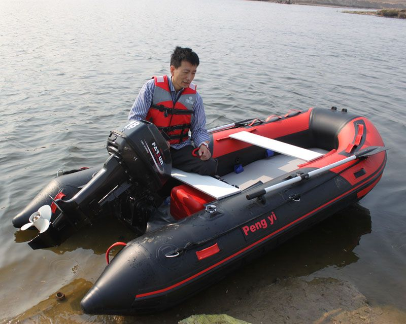 Thick hard bottom inflatable boat dinghy assault boats kayaks