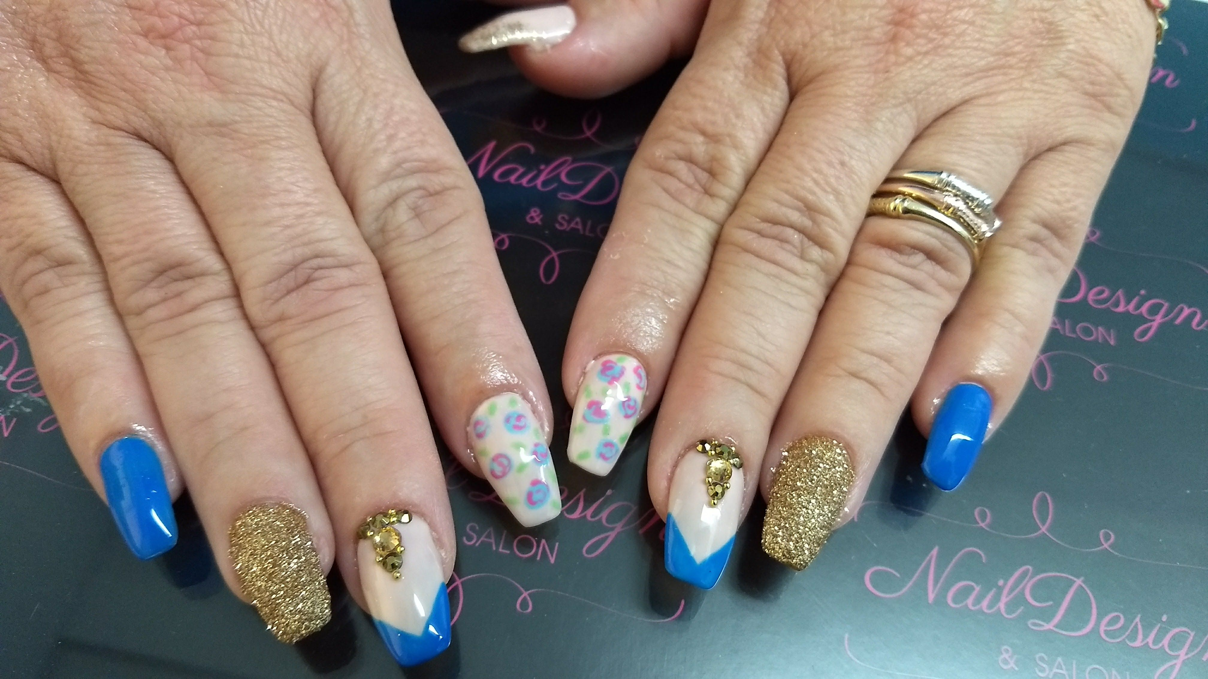 uñas #manos #nail art #estilo #francés #manicure #desde para hacer ...