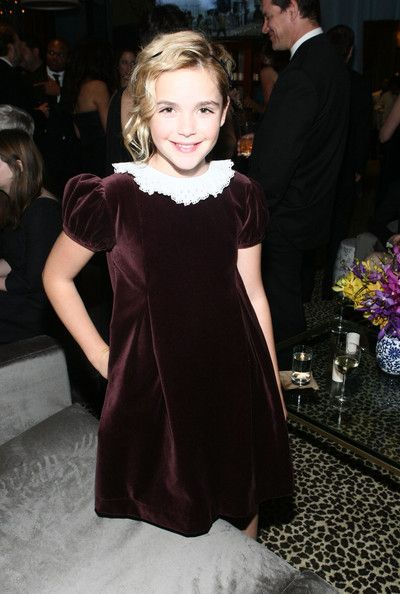 Kiernan Shipka - AMC's 2011 Golden Globe Awards Party