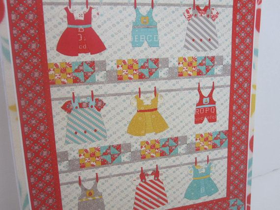 Wash Day Quilt Pattern by Coach House Designs by RedLetterFabrics