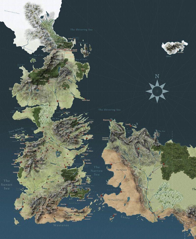 Game Of Thrones Interaktive Karte Deutsch