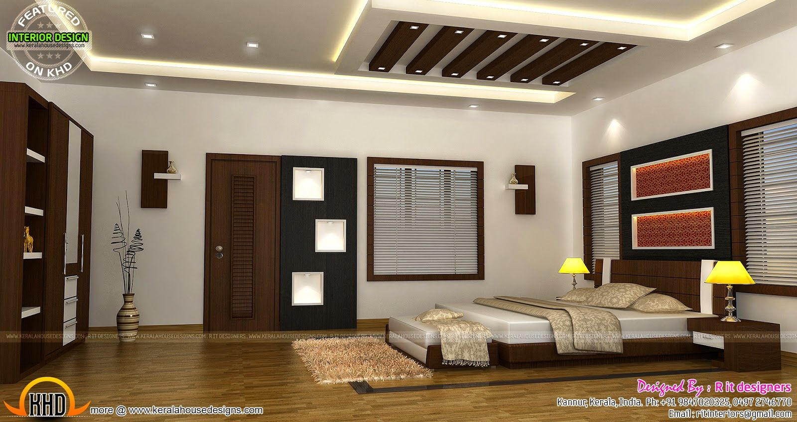 Bedroom Interior Design With Cost Kerala Home Design And Master Bedroom Interior Design Interior Design Bedroom Interior Design Classes