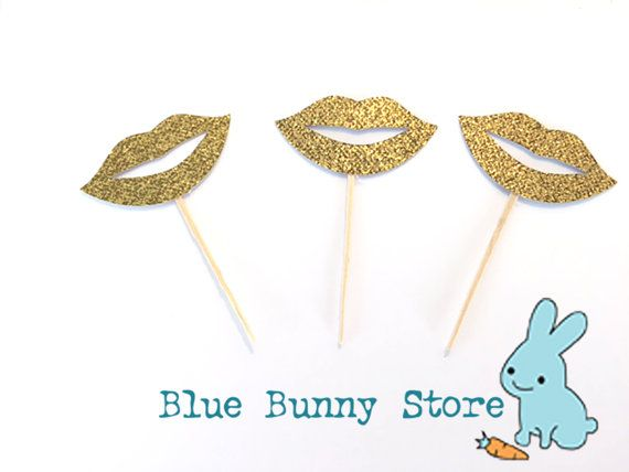 Welcome to Blue Bunny Store    *** Use code FREESHIPPING to receive free shipping on all orders over $25 ***    This listing is for:   12 gold