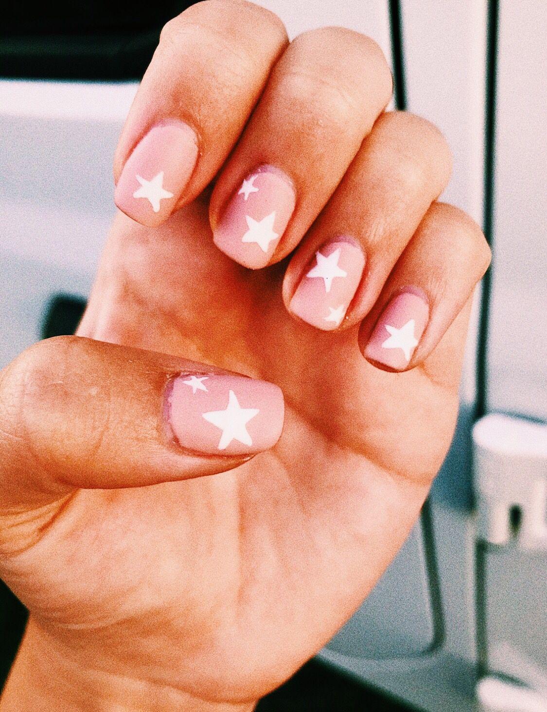 Pinterest Carolinefaith417 Cute Nails Star Nails Pretty Nails