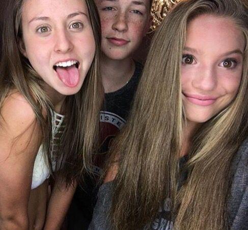 Mackenzie Ziegler with her cousins | Celebrities | Mackenzie