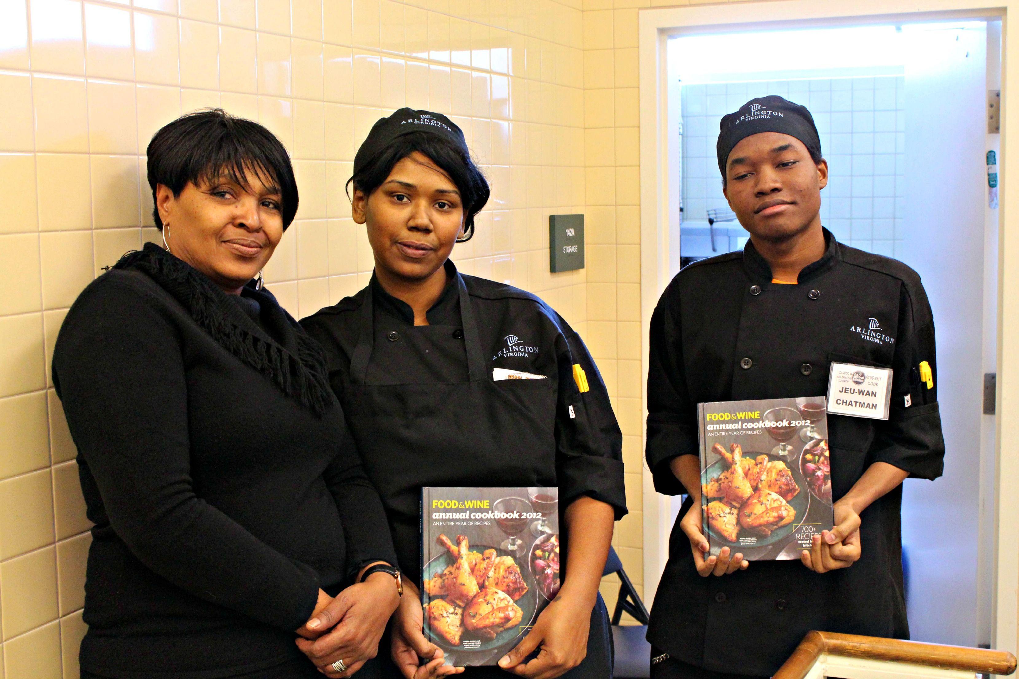 Arlington culinary job training program cookoff winners