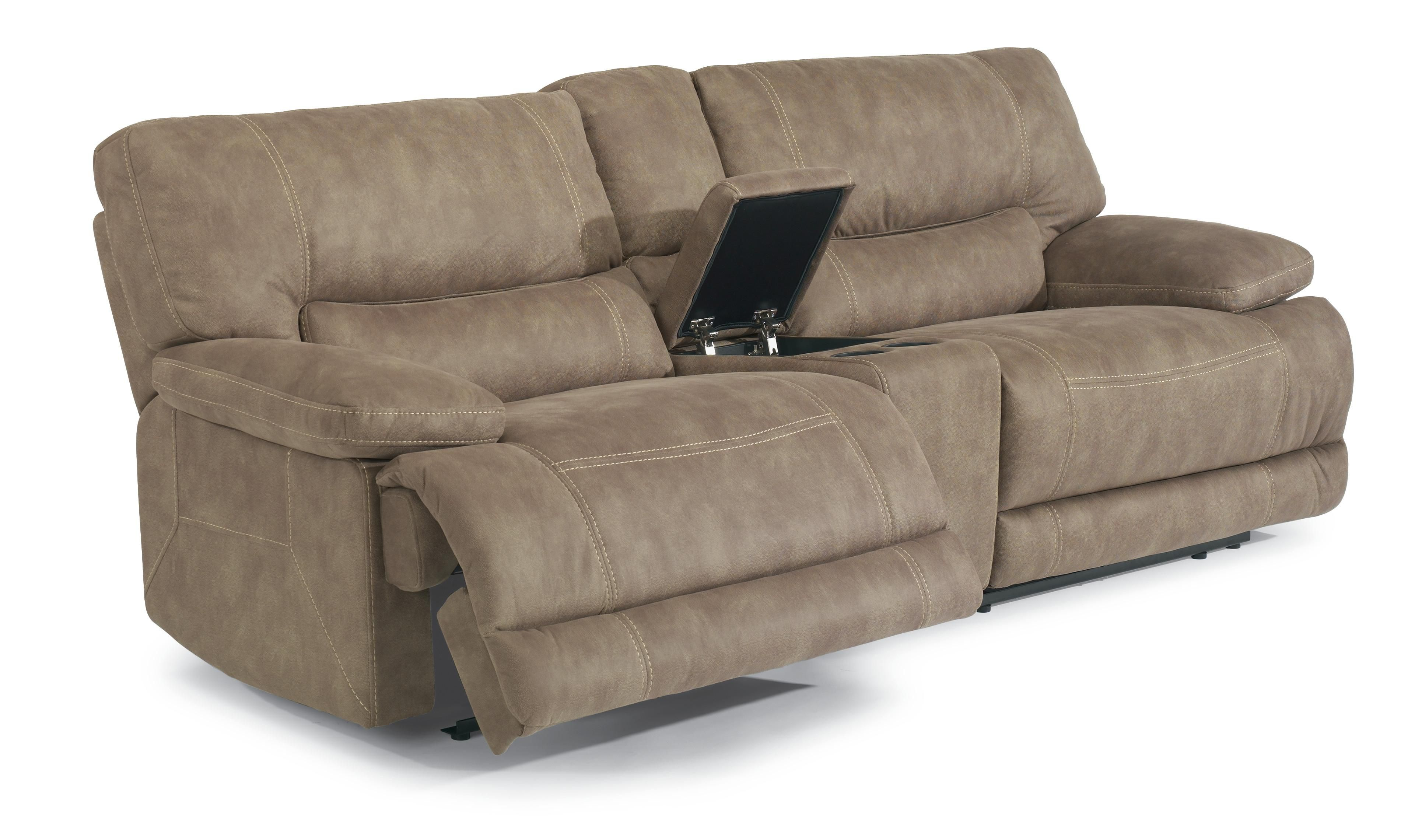 Latitudes Delia Power Reclining Sectional Sofa by