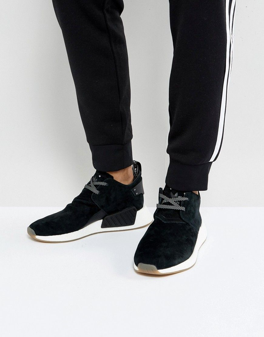 6afd4b1031bc3 ADIDAS ORIGINALS NMD C2 SNEAKERS IN BLACK BY3011 - BLACK.  adidasoriginals   shoes